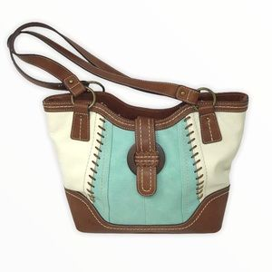 B.O.C. | Heygerton Shoulder Bag Cream Mint Brown